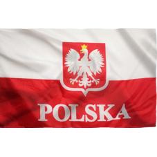 Drapeau polonais 60 x 90 cm
